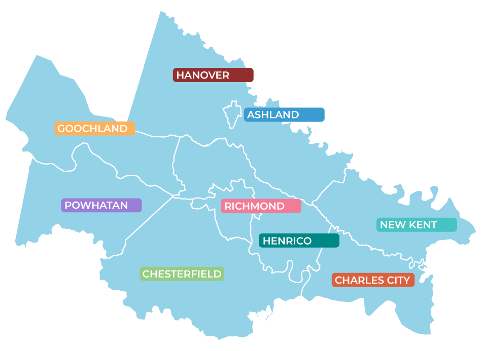 Map of Localities