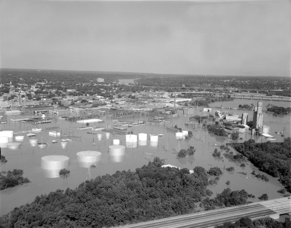 Industrial flooding I-95 Agnes