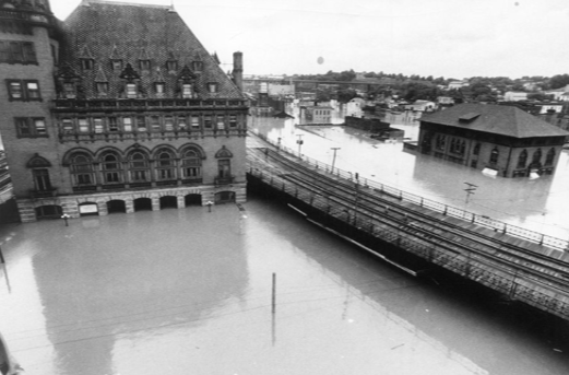 Main Street Station Richmond from Hurricane Agness 1972